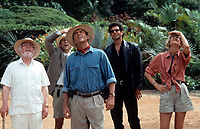 Jurassic Park (1993)<br /> Richard Attenborough, Martin Ferrero, Sam Neill, Jeff Goldblum and Laura Dern<br /> *Filmstill - Editorial Use Only*<br /> CAP/KFS<br /> Image supplied by Capital Pictures