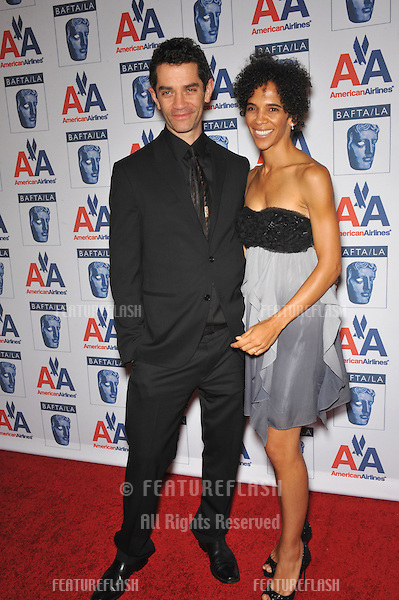 James Frain & wife Marta Cunningham at the 18th Annual BAFTA/LA Britannia Awards at the Hyatt Century Plaza Hotel, Century City..November 5, 2009  Los Angeles, CA.Picture: Paul Smith / Featureflash