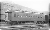 #300 D&amp;RGW coach at Salida.<br /> D&amp;RGW  Salida, CO  Taken by Smallwood, C.