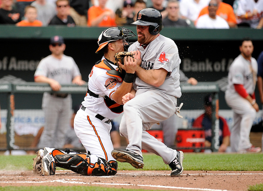 5-23-12..BOSTON REDSOX @ BALTIMORE ORIOLES.FINAL : REDSOX 5 ORIOLES 4