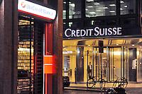 - Milan, bank Credit Suisse....- Milano, banca Credit Suisse