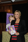 Glee's Jane Lynch signing her new book - A Memoir - Happy Accidents with foreword by Carol Burnett at Bookends Bookstore in Ridgewood, New Jersey. (Photo by Sue Coflin/Max Photos)