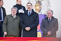 Sport and culture minister, Inigo Mendez de Vigo and King Felipe VI of Spain during Europe Championship match between Spain and Germany at Central in Madrid , Spain. March 12, 2018. (ALTERPHOTOS/Borja B.Hojas) /NortePhoto.com NORTEPOHOTOMEX