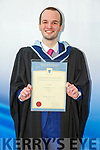 Justin Duggan from Tralee who graduated from I T Tralee on Friday, with a Batchelor of Arts in Social Care