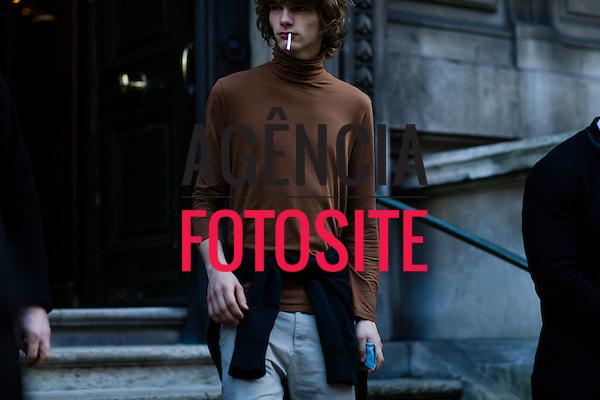 Street Style<br /> <br /> Londres Masculino - Inverno 2016<br /> <br /> <br /> foto: FOTOSITE