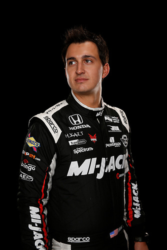 2 February, 2016, Indianapolis, Indiana USA<br /> Graham Rahal<br /> &copy;2016, Michael L. Levitt<br /> LAT Photo USA