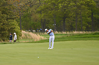 Rafael Cabrera Bello (ESP) hits his approach shot on 12 during round 4 of the 2019 PGA Championship, Bethpage Black Golf Course, New York, New York,  USA. 5/19/2019.<br /> Picture: Golffile | Ken Murray<br /> <br /> <br /> All photo usage must carry mandatory copyright credit (© Golffile | Ken Murray)