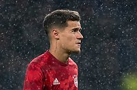 Philippe Coutinho (on loan from Barcelona) of Bayern Munich pre match during the UEFA Champions League group match between Tottenham Hotspur and Bayern Munich at Wembley Stadium, London, England on 1 October 2019. Photo by Andy Rowland.