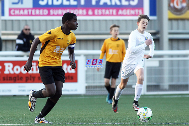 MAIDSTONE UNITED v KINGS HILL<br /> KENT YOUTH LEAGUE<br /> U14 CENTRAL<br /> SUNDAY 27TH NOVEMBER 20<br /> GALLAGHER STADIUM