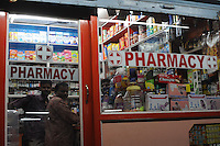 Pharmacy in Madras, India