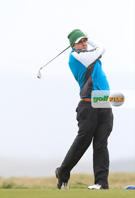 David Reddan (Nenegh) during the 36 hole stroke play qualifying on April 3rd 2015 for the 2015 West of Ireland Open Championship, Co. Sligo, Golf Club, Rosses Point, Sligo, Ireland.<br /> Picture: Thos Caffrey / Golffile