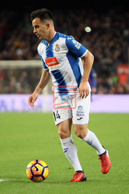 League Santander 2016/2017. Game: 16.<br /> FC Barcelona vs RCD Espanyol: 4-1.<br /> Jose Manuel Jurado.