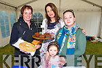 Angela Donnellan, Heather Hanafin, Gemma Dowling and Sophie O'Mahony at the Ardfert Poultry Sale Fair on the Green Ardfert on Sunday