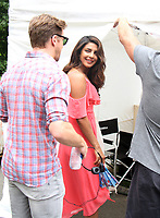 NEW YORK, NY July 11, 2017  Priyanka Chopra shooting on location for Newline Cinema film  Isn't It Romantic in Central Park New York July 11, 2017. Credit:RW/MediaPunch