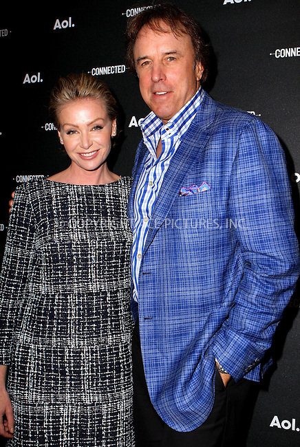 WWW.ACEPIXS.COM<br /> <br /> April 29 2014, New York City<br /> <br /> Portia de Rossi and Kevin Nealon attend the 2014 AOL NewFront at the Duggal Greenhouse on April 29, 2014 in the Brooklyn borough of New York City. <br /> <br /> By Line: Nancy Rivera/ACE Pictures<br /> <br /> <br /> ACE Pictures, Inc.<br /> tel: 646 769 0430<br /> Email: info@acepixs.com<br /> www.acepixs.com