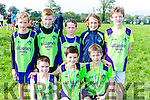 Killarney Valley athletes at the Kerry Cross Country championships in Firies on Sunday front row l-r: Jason O'Reilly, Oisin Lynch, Ted O'Gorman. Back row: Sean O'Donovan, Cian Russell, Liam Hennigan and Dara O'Sugrue