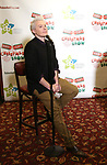 """Clay Aiken and attends the Broadway Preview Photo Call for """"Ruben & Clay's First Annual Christmas Carol Family Fun Pageant"""" at Sardi's on November 15, 2018 in New York City."""