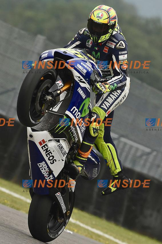 Valentino Rossi Yamaha <br /> Scarperia (Italia) 30/05/2014 - Motomondiale Gp Mugello foto Luca Gambuti/Image Sport/Insidefoto