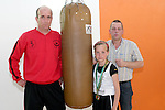 Brian and Zoe Kavanagh with Sponsor David Bissett, Managing Director of Blacktop Tarmacadam Company Ltd at Drogheda Boxing Club..Photo NEWSFILE/Jenny Matthews.(Photo credit should read Jenny Matthews/NEWSFILE)....This Picture has been sent you under the condtions enclosed by:.Newsfile Ltd..The Studio,.Millmount Abbey,.Drogheda,.Co Meath..Ireland..Tel: +353(0)41-9871240.Fax: +353(0)41-9871260.GSM: +353(0)86-2500958.email: pictures@newsfile.ie.www.newsfile.ie.FTP: 193.120.102.198.