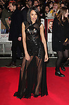 NON EXCLUSIVE PICTURE: MATRIXPICTURES.CO.UK<br /> PLEASE CREDIT ALL USES<br /> <br /> WORLD RIGHTS<br /> <br /> English singer Jade Ewen attending the UK Premiere of Mortdecai at Empire Leicester Square, in London.<br /> <br /> JANUARY 19th 2015<br /> <br /> REF: GBH 15182