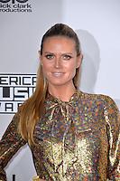 LOS ANGELES, CA. November 20, 2016: Model Heidi Klum at the 2016 American Music Awards at the Microsoft Theatre, LA Live.<br /> Picture: Paul Smith/Featureflash/SilverHub 0208 004 5359/ 07711 972644 Editors@silverhubmedia.com