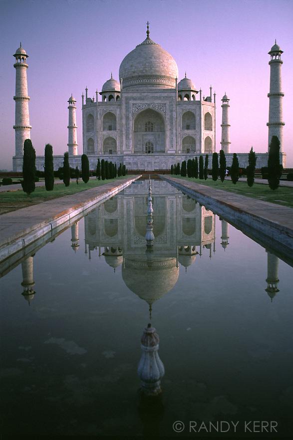 Taj Mahal - vertical