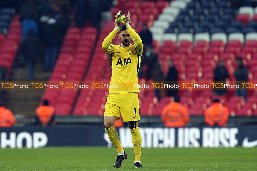 Hugo Lloris of Tottenham Hotspur after Tottenham Hotspur vs Huddersfield Town, Premier League Football at Wembley Stadium on 3rd March 2018