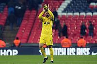 Hugo Lloris of Tottenham Hotspur after Tottenham Hotspur vs Huddersfield Town, Premier League Football at Wembley Stadium on 3rd March 2018