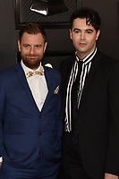LOS ANGELES - JAN 26:  Andrew Batt, Kris Maher at the 62nd Grammy Awards at the Staples Center on January 26, 2020 in Los Angeles, CA