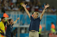 Natal, Brazil - Monday, June 16, 2014: The USMNT defeated Ghana 2-1 during group play at Estádio das Dunas.