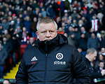 Chris Wilder manager of Sheffield Utd during the Championship match at Bramall Lane Stadium, Sheffield. Picture date 26th December 2017. Picture credit should read: Simon Bellis/Sportimage