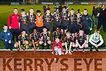 Park A celebrate their victory over Tralee Dynamos in the Healy family U15 cup last Friday evening at Mounthawk park, Tralee.