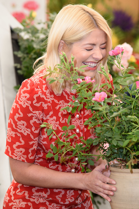 Holly Willoughby<br /> at the Chelsea Flower Show 2018, London<br /> <br /> ©Ash Knotek  D3402  21/05/2018