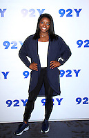 NEW YORK, NY November 18:Simone Biles at 92Y presents 2016 Olympic Gold Medalist Simone Biles in Conversation with Daphne Oz  at the 92nd Street Y in New York City.November 18, 2016. Credit:RW/MediaPunch