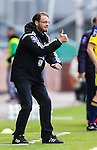 S&ouml;dert&auml;lje 2014-05-31 Fotboll Superettan Syrianska FC - &Auml;ngelholms FF :  <br /> &Auml;ngelholms tr&auml;nare Joakim Persson g&ouml;r tummen upp <br /> (Foto: Kenta J&ouml;nsson) Nyckelord:  Syrianska SFC S&ouml;dert&auml;lje Fotbollsarena &Auml;ngelholm &Auml;FF portr&auml;tt portrait