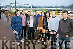Staff of Garveys Tralee enjoying a night out at The Kingdom Greyhound Stadium on Saturday night. Here with  Danny Healy Rea TD were  l-r  Lucas Murphy, Thomas Hurley, Jonathan O'Sullivan, Pirta Mriwaac, Helen Griffin, Sandra Lynch, John Brosnan and Billy Cronin