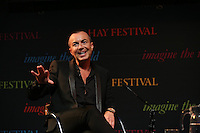 Sunday 25 May 2014, Hay on Wye, UK<br /> Pictured: Fashion designer Julien Macdonald.<br /> Re: The Hay Festival, Hay on Wye, Powys, Wales UK.