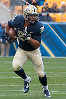Pitt running back James Conner (24). The Duke Blue Devils defeated the Pitt Panthers 51-48 at Heinz Field, Pittsburgh Pennsylvania on November 1, 2014.