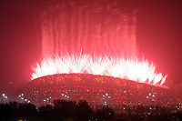 Aug 08, 2008, Beijing, China, The opening ceremony for the Beijing 2008 Olympics at the National Stadium, also known as the Bird's Nest.