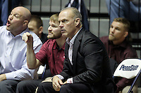 STATE COLLEGE, PA -DECEMBER 19: Head coach Kevin Dresser of the Virginia Tech Hokies on December 19, 2014 at Recreation Hall on the campus of Penn State University in State College, Pennsylvania. Penn State won 20-15. (Photo by Hunter Martin/Getty Images) *** Local Caption *** Kevin Dresser