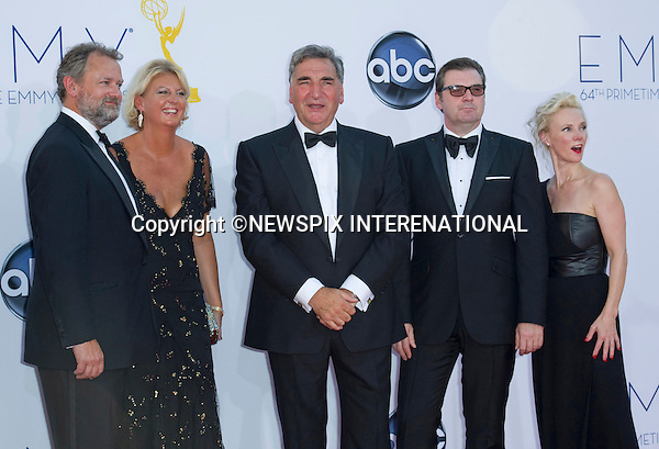 "DOWNTON ABBEY CAST - 64TH PRIME TIME EMMY AWARDS.Nokia Theatre Live, Los Angelees_23/09/2012.Mandatory Credit Photo: ©Dias/NEWSPIX INTERNATIONAL..**ALL FEES PAYABLE TO: ""NEWSPIX INTERNATIONAL""**..IMMEDIATE CONFIRMATION OF USAGE REQUIRED:.Newspix International, 31 Chinnery Hill, Bishop's Stortford, ENGLAND CM23 3PS.Tel:+441279 324672  ; Fax: +441279656877.Mobile:  07775681153.e-mail: info@newspixinternational.co.uk"