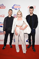 Clean Bandit<br /> at the Jingle Bell Ball 2016, O2 Arena, Greenwich, London.<br /> <br /> <br /> ©Ash Knotek  D3208  03/12/2016