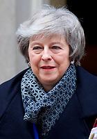 JAN 16 Theresa May leaving Downing Street