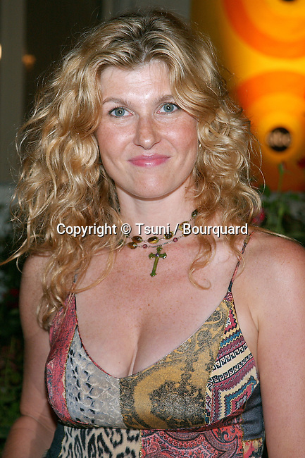 "Connie Britton arriving at the party for the ""2002 ABC Summer Press Tour All-Star"" at the Tournament House in Pasadena, Los Angeles. July 18, 2002."