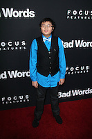 """Matthew Zhang<br /> at the """"Bad Words"""" Los Angeles Premiere, Arclight, Hollywood, CA 03-05-14<br /> David Edwards/DailyCeleb.Com 818-249-4998"""