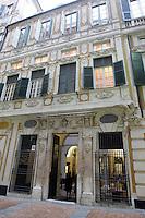 Veduta esterna di Palazzo Spinola a Genova.<br /> Exterior of Palazzo Spinola in Genoa.<br /> UPDATE IMAGES PRESS/Riccardo De Luca