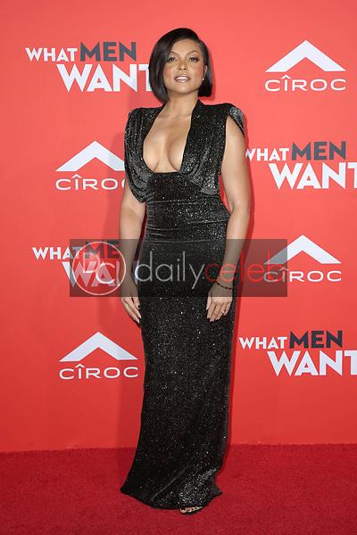 "Taraji P. Henson<br /> at the ""What Men Want"" Premiere, Village Theater, Westwood, CA 01-28-19<br /> David Edwards/DailyCeleb.com 818-249-4998"