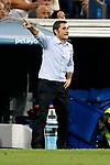 Supercopa de Espa&ntilde;a - Vuelta<br /> R. Madrid vs FC Barcelona: 2-0.<br /> Ernesto Valverde.