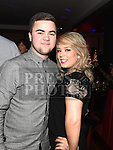 James McGinn and Ciara Gibney pictured at the Boots Christmas party in Brú. Photo:Colin Bell/pressphotos.ie