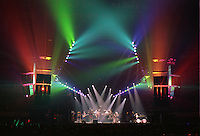 """The Grateful Dead perfoming """"Space"""" at the Nassau Coliseum, Uniondale NY, 30 March 1990. Wide Lighting Look Image Capture."""